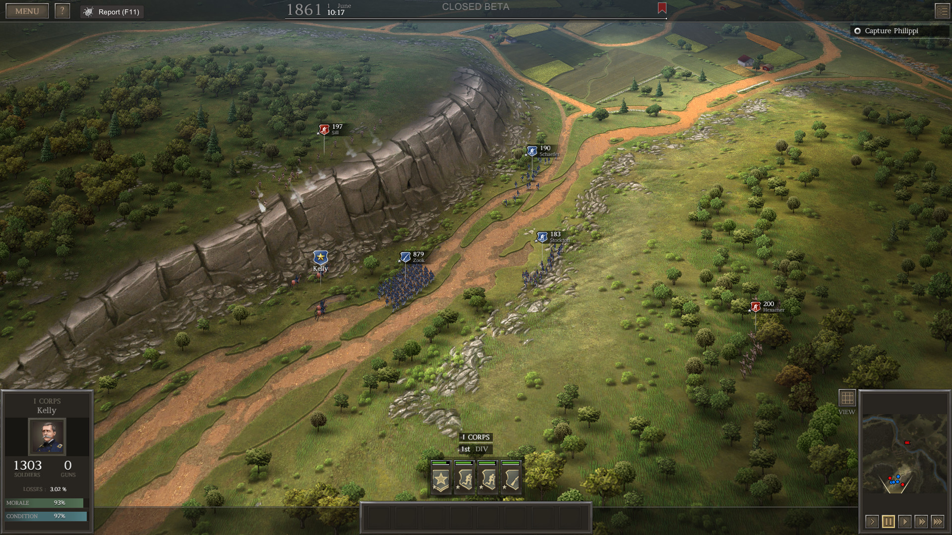 Civil war video games