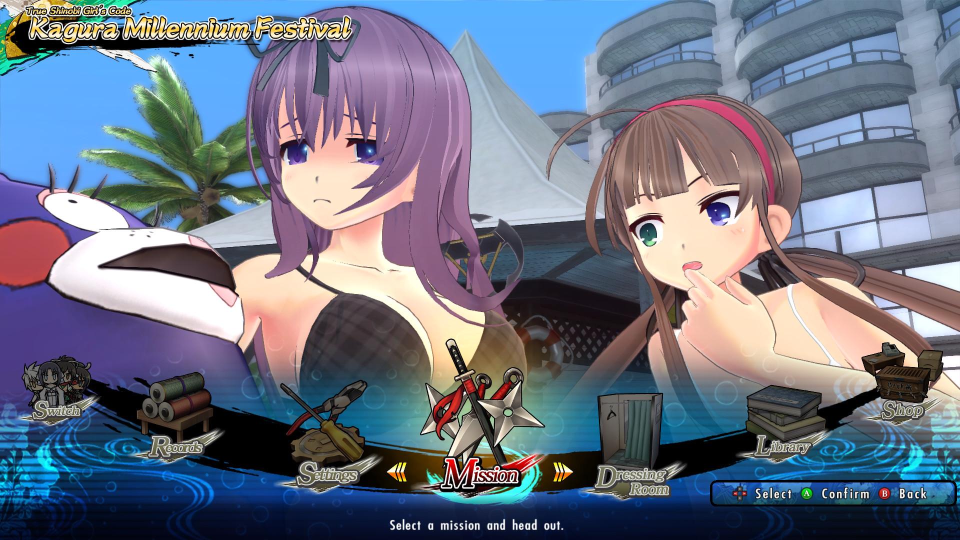 Senran Kagura: Estival Versus Screenshot 2