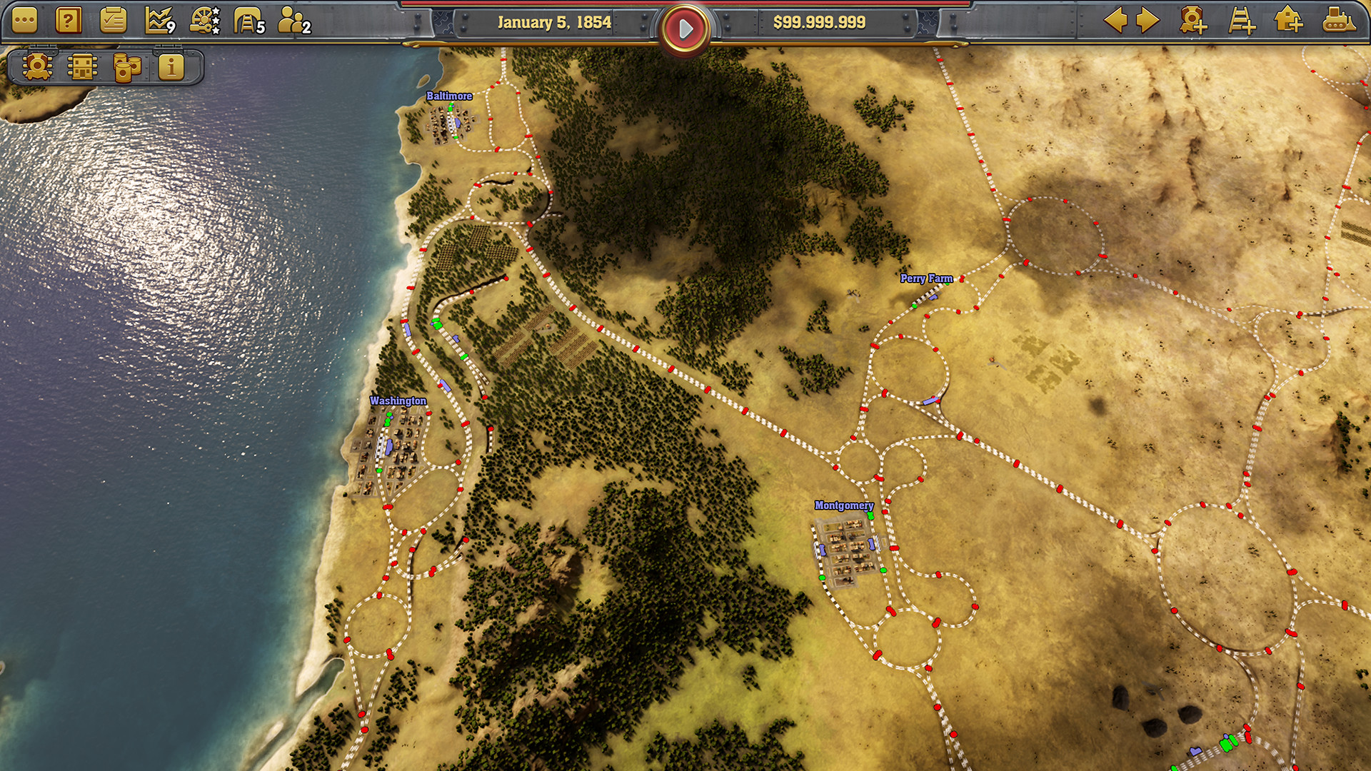 Railway Empire Screenshot 1
