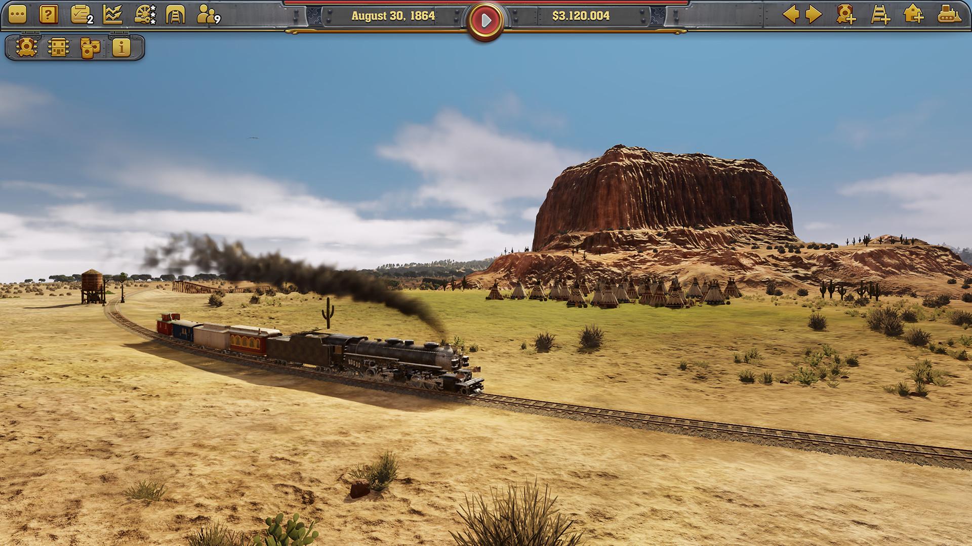 Railway Empire · AppID: 503940