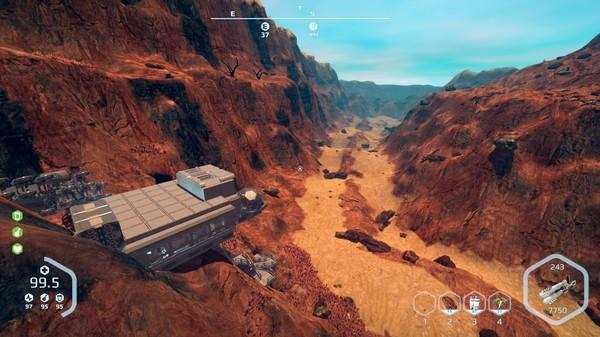 Screenshot of Planet Nomads