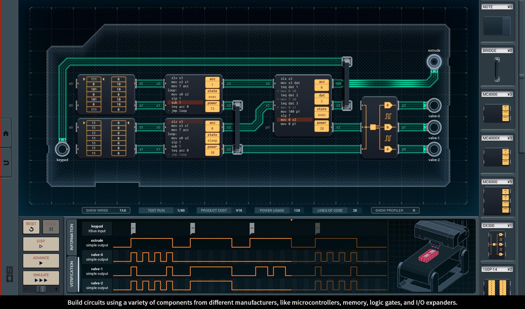 Save 50 On Shenzhen I O Steam Building Wiring Games