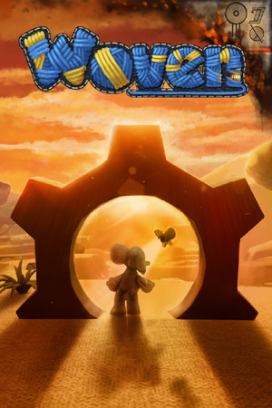 Woven poster image on Steam Backlog