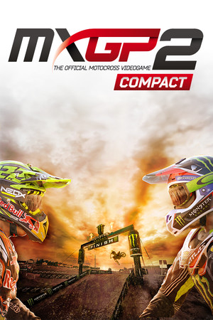 MXGP2 - The Official Motocross Videogame Compact poster image on Steam Backlog
