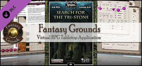 Fantasy Grounds - A08: Search For The Tri-Stone (PFRPG)