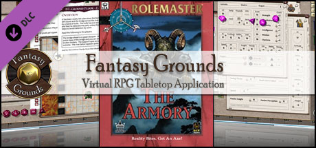 Fantasy Grounds - Rolemaster Classic: The Armoury