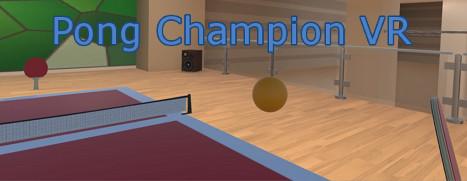 Pong Champion VR