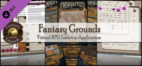 Fantasy Grounds - Rippers Resurrected Map Pack (Savage Worlds)