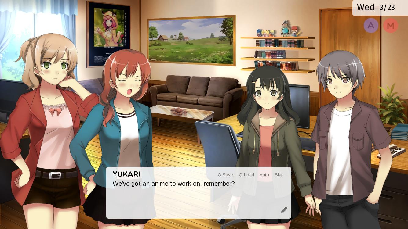 Anime Studio Simulator [Visual Novel, English] :: Nyaa