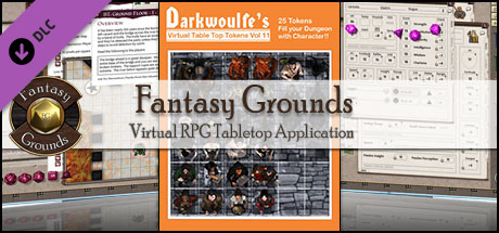 Fantasy Grounds - Darkwoulfe's Token Pack Volume 11