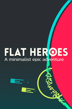 Flat Heroes poster image on Steam Backlog