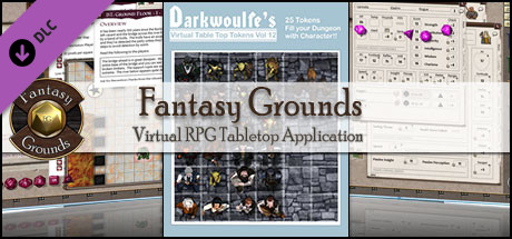 Fantasy Grounds - Darkwoulfe's Token Pack Volume 12
