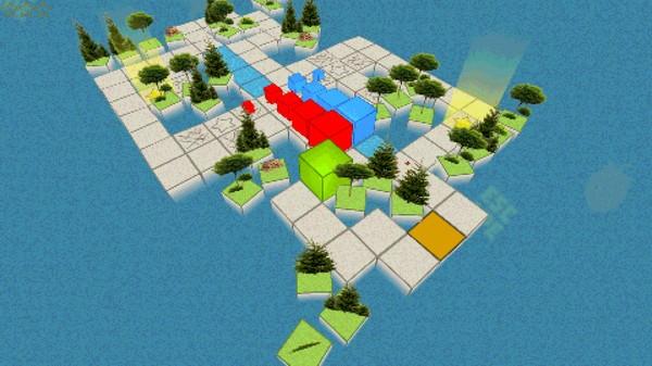 скриншот QUBIC 2