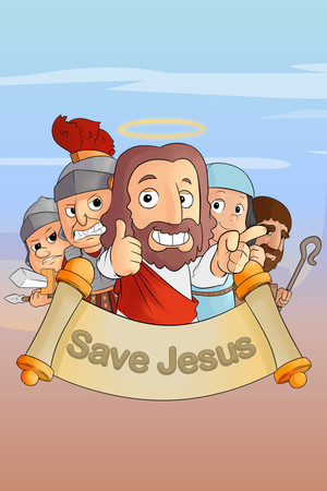 Save Jesus poster image on Steam Backlog
