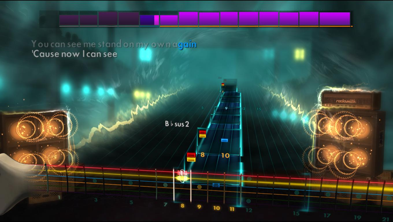 how to play cold by crossfade