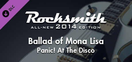 "Rocksmith® 2014 Edition - Remastered – Panic! At The Disco - ""Ballad of Mona Lisa"""