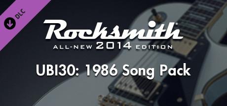 Rocksmith® 2014 Edition – Remastered – UBI30: 1986 Song Pack