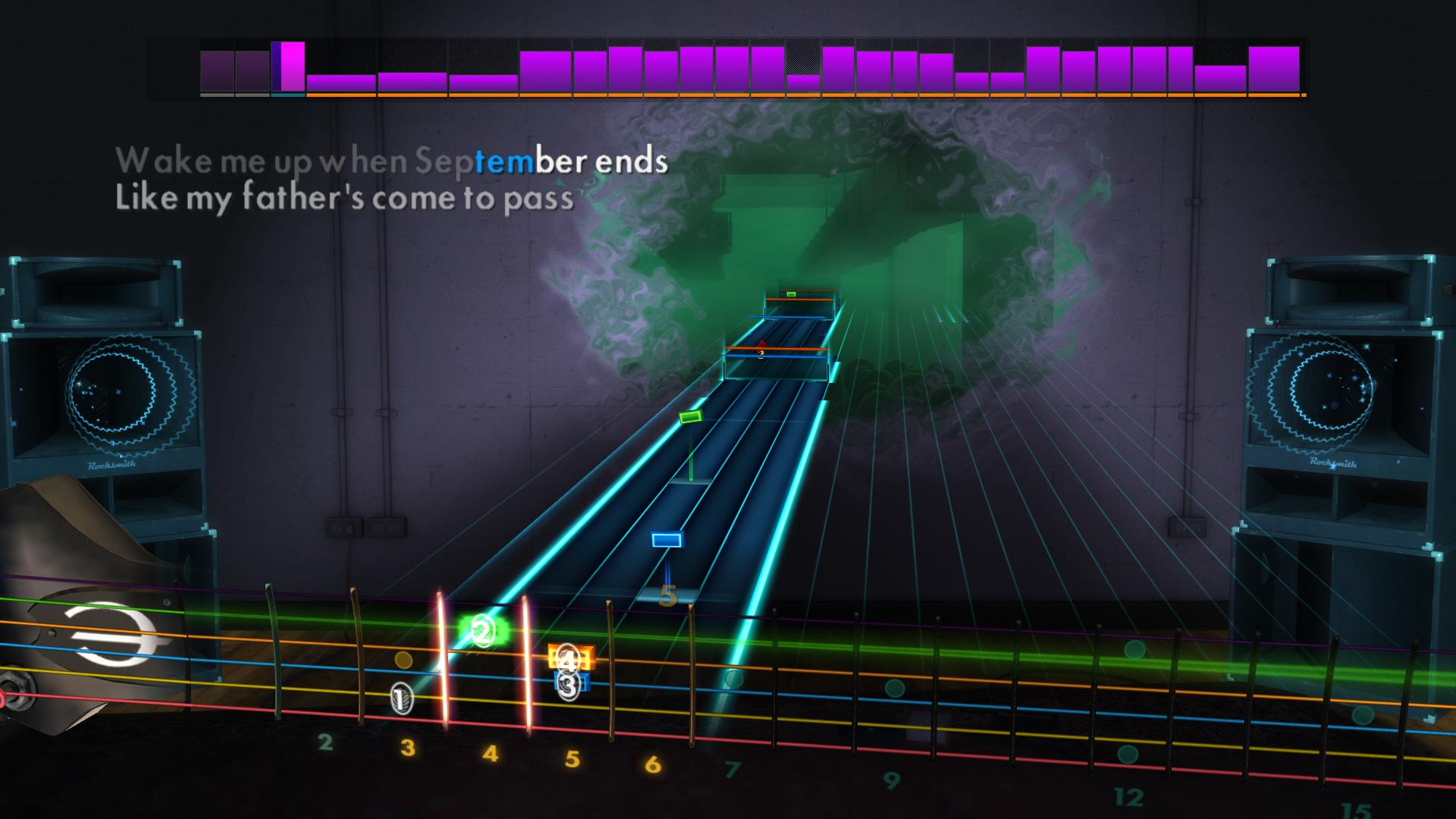 how to play wake me up when september ends guitar