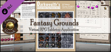 Fantasy Grounds - Darkwoulfe's Token Pack Volume 13