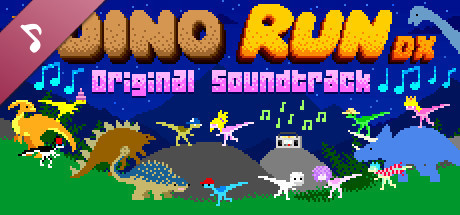 Dino Run DX OST & Supporter Pack cover art