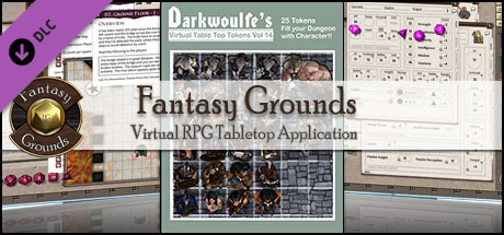 Fantasy Grounds - Darkwoulfe's Token Pack Volume 14