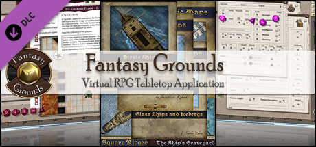 Fantasy Grounds - Fantastic Maps: Pirates!