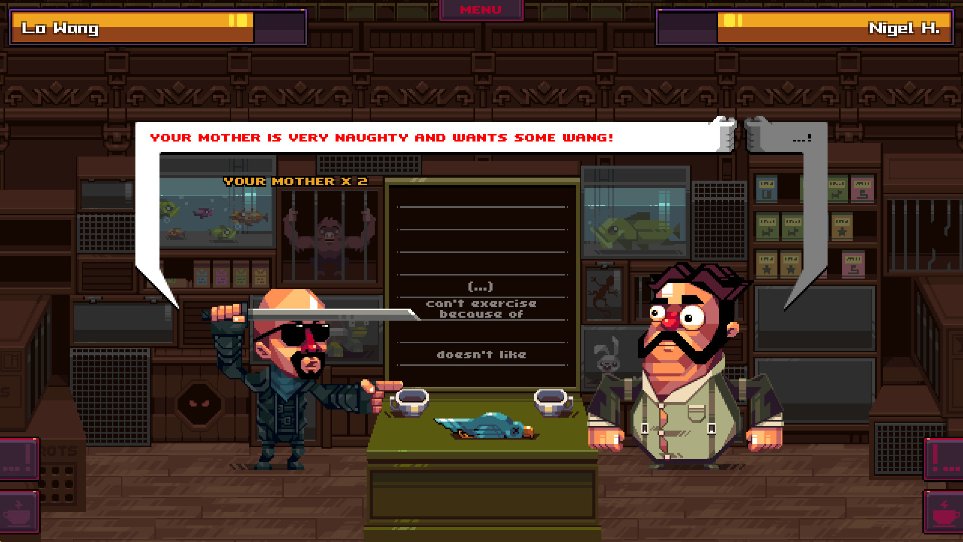 Oh   Sir!! The Insult Simulator