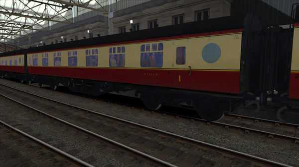 скриншот TS Marketplace: BR Porthole Coach Pack 01 Add-On 2