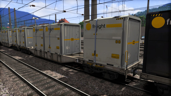скриншот TS Marketplace: ÖBB Sgns Container Wagon Pack 1