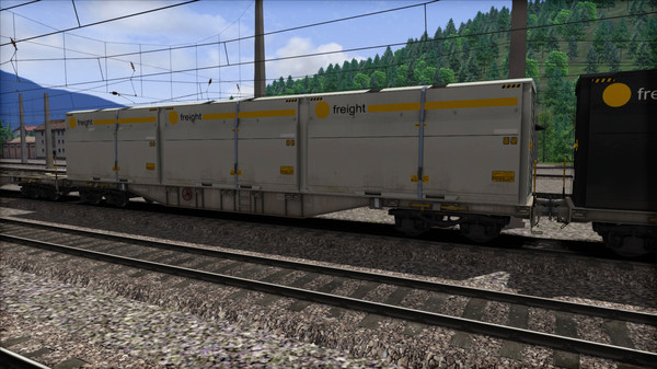 скриншот TS Marketplace: ÖBB Sgns Container Wagon Pack 2