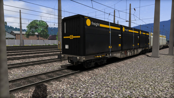 скриншот TS Marketplace: ÖBB Sgns Container Wagon Pack 3
