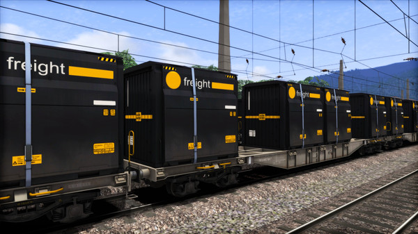 скриншот TS Marketplace: ÖBB Sgns Container Wagon Pack 0