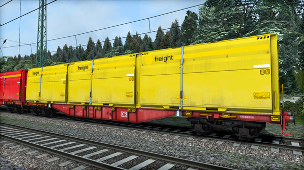 скриншот TS Marketplace: DB Sgns Container Wagon Pack 2