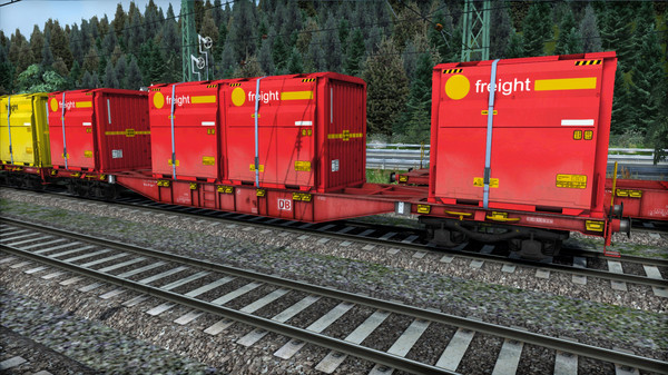 скриншот TS Marketplace: DB Sgns Container Wagon Pack 4