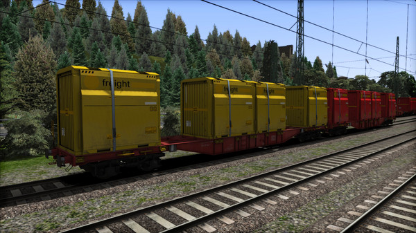 скриншот TS Marketplace: DB Sgns Container Wagon Pack 0