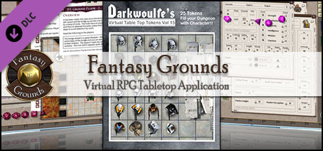Fantasy Grounds - Darkwoulfe's Token Pack Volume 15