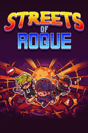 Streets of Rogue poster image on Steam Backlog