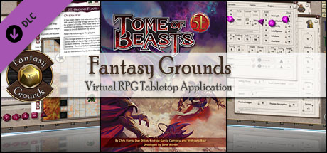 Fantasy Grounds - 5E: Tome of Beasts