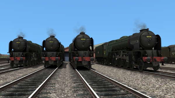 TS Marketplace: British Railways Class A2 Livery Pack Add-On