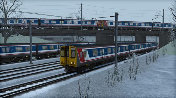 скриншот TS Marketplace: Network Southeast BR Class 313 Livery Pack 5