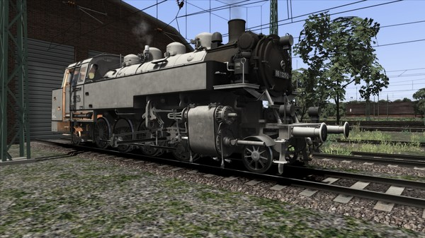 скриншот TS Marketplace: DRG BR 86 Grey Livery Pack Add-On 3