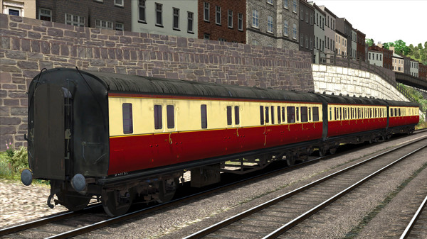 скриншот TS Marketplace: GWR High Waist Collett Coaches Pack 01 Add-On 3