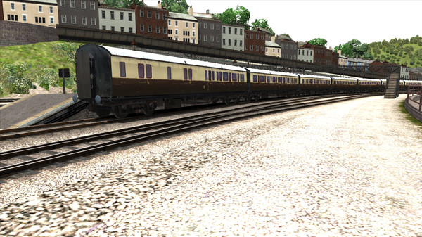скриншот TS Marketplace: GWR High Waist Collett Coaches Pack 01 Add-On 5