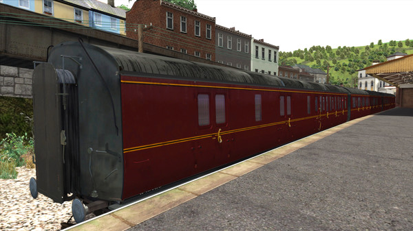 скриншот TS Marketplace: GWR High Waist Collett Coaches Pack 01 Add-On 0