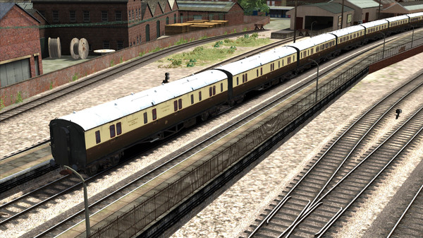 скриншот TS Marketplace: GWR High Waist Collett Coaches Pack 02 Add-On 5