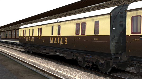 скриншот TS Marketplace: GWR High Waist Collett Coaches Pack 03 Add-On 0