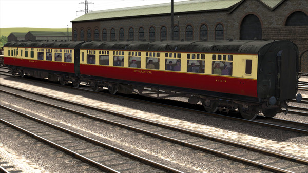 скриншот TS Marketplace: GWR High Waist Collett Coaches Pack 03 Add-On 3