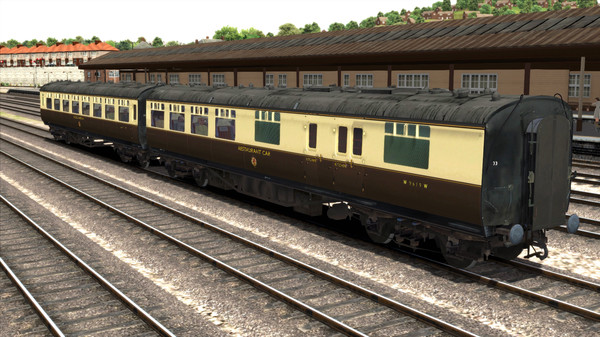 скриншот TS Marketplace: GWR High Waist Collett Coaches Pack 03 Add-On 5