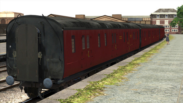 скриншот TS Marketplace: GWR High Waist Collett Coaches Pack 03 Add-On 1