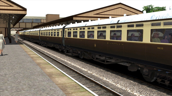 скриншот TS Marketplace: GWR High Waist Collett Coaches Pack 03 Add-On 2